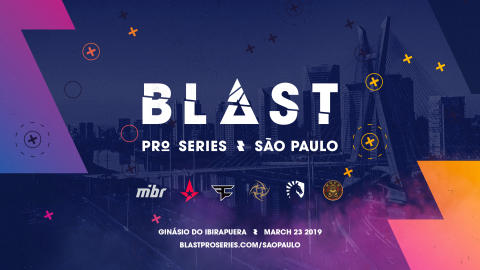 Major finalist ENCE last team confirmed for BLAST Pro Series in São Paulo