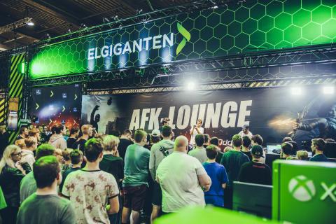 Elgiganten skaber stort gaming-univers på NPF: Mere end 5.000 samles til Danmarks største LAN-party