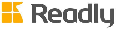 Readly logo (dark)