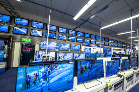 TV-utvalg hos Elkjøp