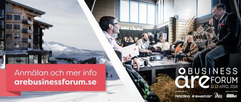 Välkommen till Åre Business Forum 11-13 april 2018