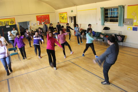 Oriental Exercise