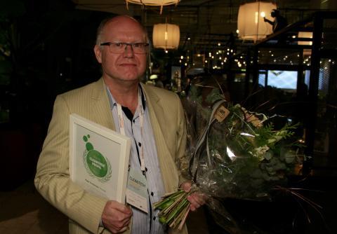 Vinnaren av Årets Cleantechprofil