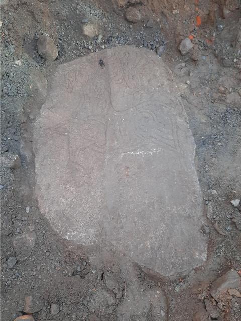Sensationellt fynd vid grävning utanför Ystad