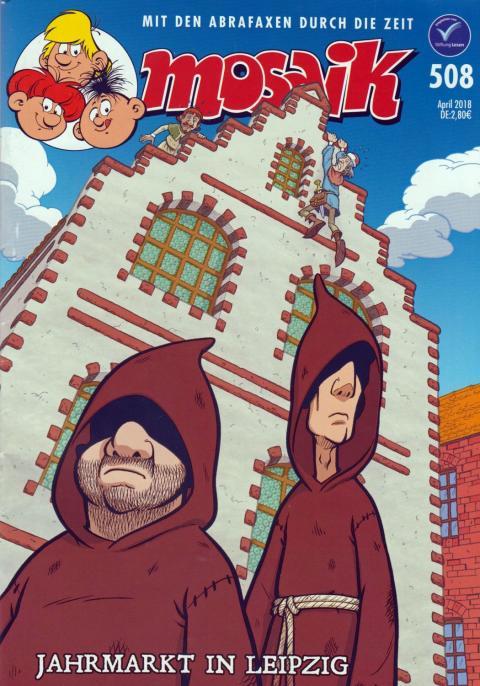Cover der MOSAIK Ausgabe April 2018