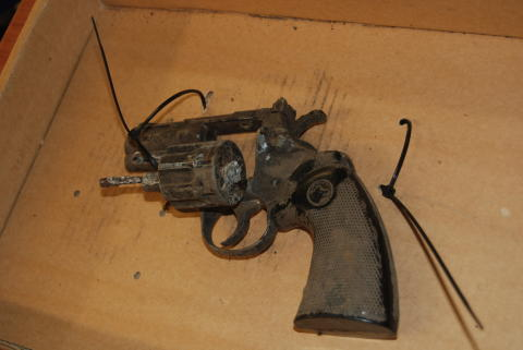 Blank firing gun found in Wavertree