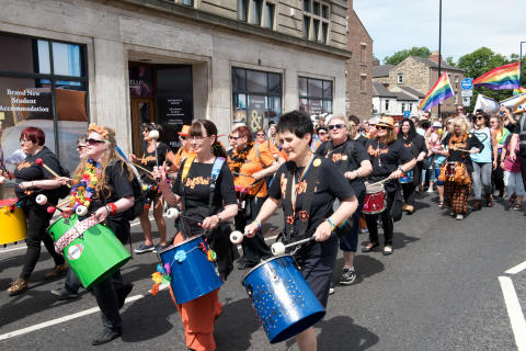 Go North East takes Pride in backing northern LGBT festival