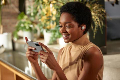 Il tuo suono. Niente altro. Sony presenta le nuove cuffie true wireless WF-1000XM4