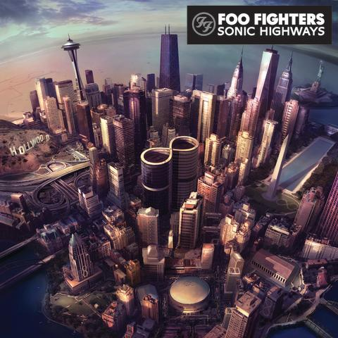Foo Fighters Sonic Highways cover