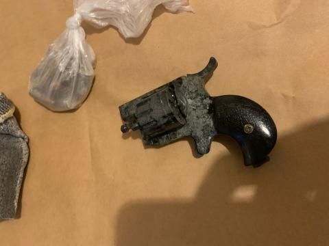 Firearm and ammunition recovered during operation in Lambeth