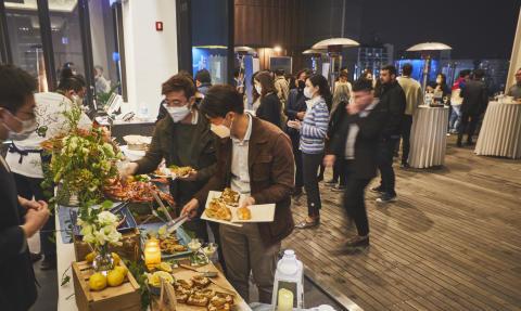 Norsk rød kongekrabbe er populær blant sørkoreanske gourmeter