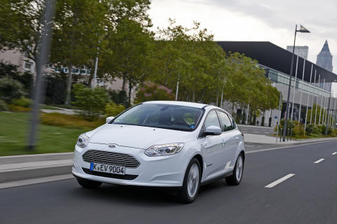 Ford Focus Electric ble nylig lansert i Norge