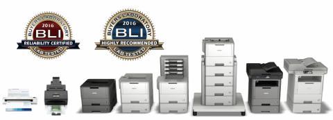 Outstanding Achievement Award pour imprimantes et scanners professionnels de Brother