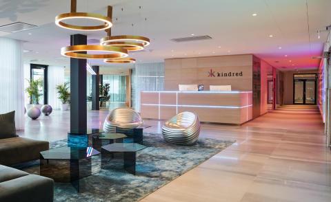 Bild på lobby hos Kindred