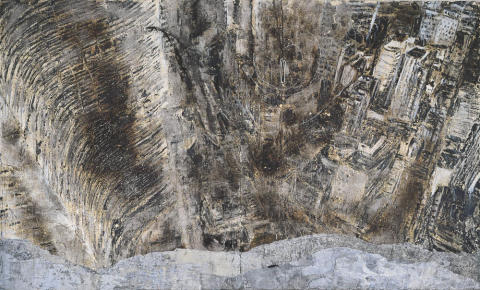 Anselm Kiefer,  BarrenLandscape, 1987 - 1989