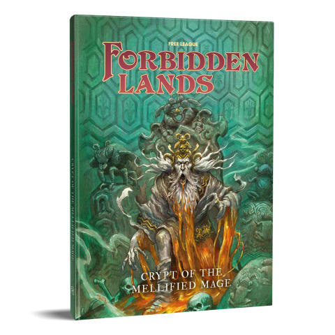 """Crypt of the Mellified Mage"" Module For Award-Winning Forbidden Lands RPG Launched Today"