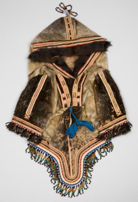 Amaat av sälhud från Grönland, från Världskulturmuseerna
