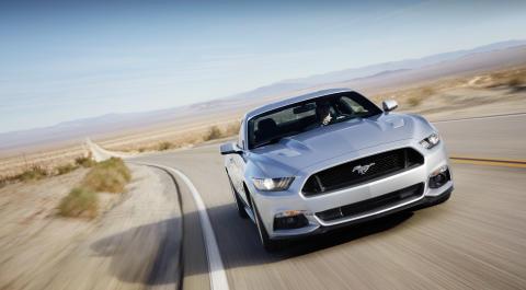 Krefter, drivstofføkonomi og avansert giring gjør Ford Mustang skreddersydd for kjøreglede