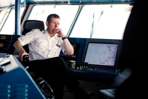 Captain Kai Albrigtsen Photo Maximilian Schwarz Hurtigruten