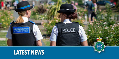 Handgun and drugs recovered following warrant at house in Bootle