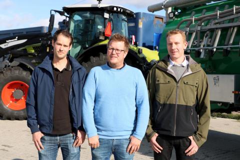 Lannaskede lantbruksmaskiner