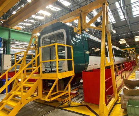 London Northwestern Railway - Class 730 - Bombardier production line