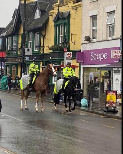 Mounted Branch patrol
