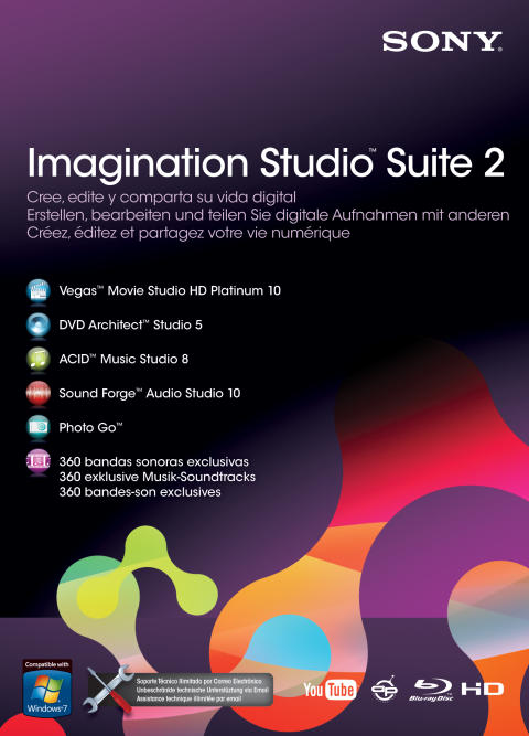 Imagination Studio Suite 2 von Sony