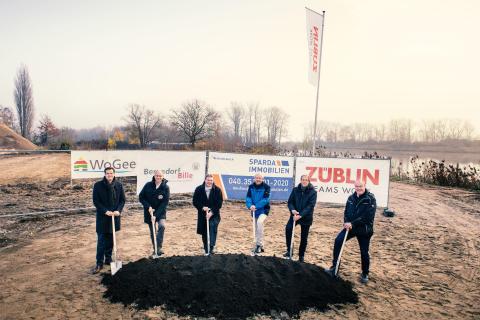 Construction start Geesthacht