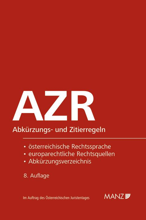 Dax/Hopf: AZR, 8. Aufl.