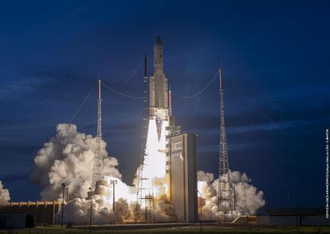 Eutelsat confirma el lanzamiento exitoso de EUTELSAT 7C