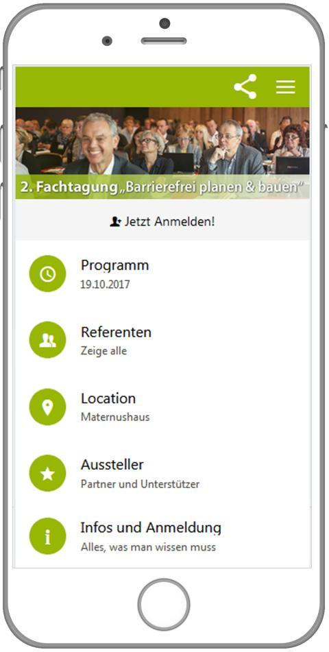 Event-App: Barrierefrei planen & bauen