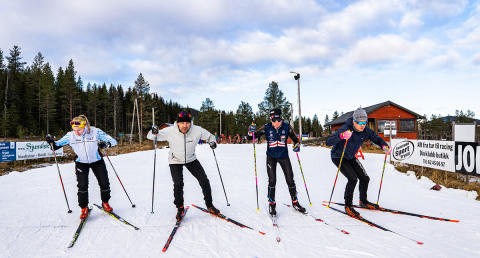 Verdens raskeste skiløpere til Trysil