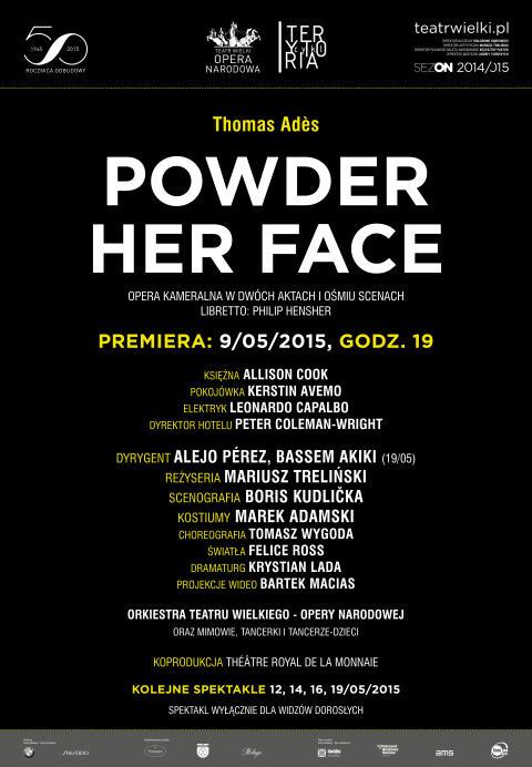 Powder her Face_Afisz
