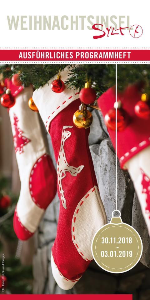 Weihnachtsinsel Sylt: Das neue SMG-Programmheft
