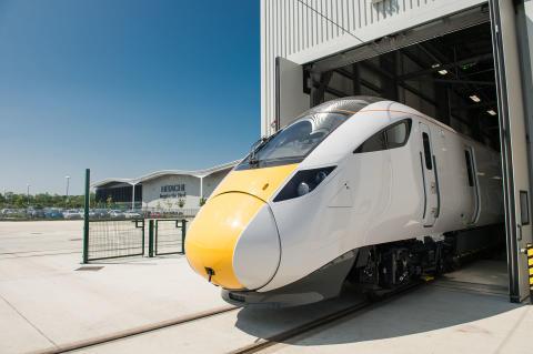 IEP Train at Newton Aycliffe