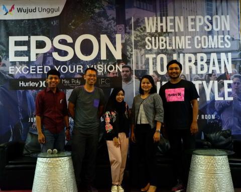 Epson Sublime Dalam Gaya Hidup Kaum Urban