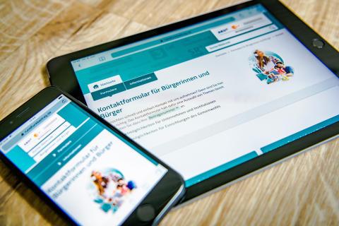 Online-Service zum Rundfunkbeitrag: Kontaktformular