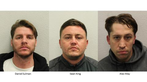 Two men jailed for drugs supply offences
