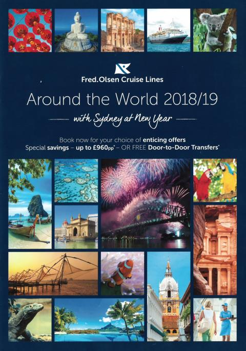'Around the World 2018/19 with Sydney at New Year' – a Fred. Olsen first!