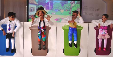 Play time lessons for Moray pupils on recycling