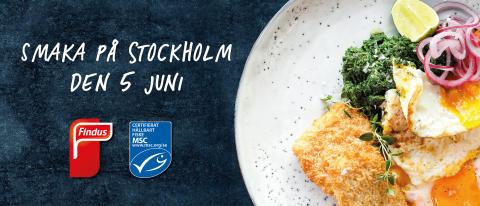 Findus bjuder på hållbar Fish & Crisp på Smaka på Stockholm
