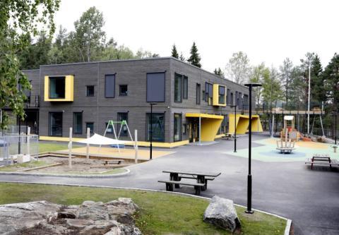 Månedens bygg september 2018 - Lia Barnehage