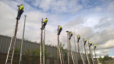 New trainee engineers for Staffordshire in Openreach's biggest ever recruitment drive welcomed by Chancellor of the Exchequer