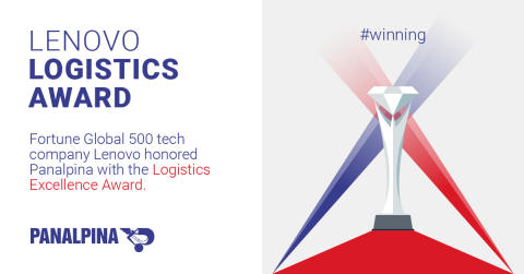 Panalpina honored with Lenovo Logistics Award