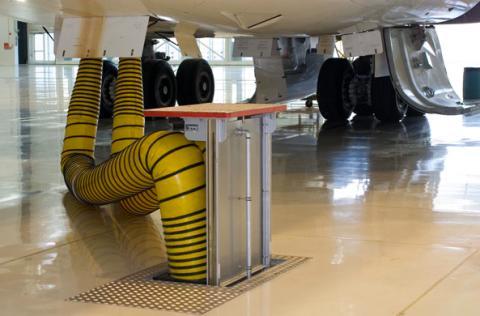 Dubai Airport flying high