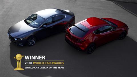 Mazda3 vinder pris for verdens bedste bildesign