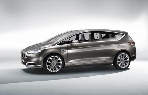 Ny Ford S-MAX Concept viser elegant design og avansert teknologi