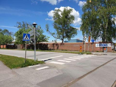 Avfallshantering flyttas från Eslövs centrum