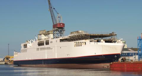 Scandlines genbruger jern fra nye færger